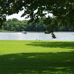 Delaware River in front of Manor House