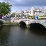 River Liffey to O'Connell Bridge