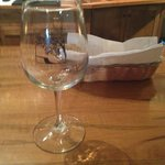Complimentary Auburn Road wine glass.