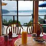 Amazing view with breakfast