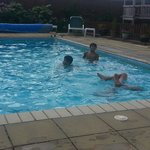 Swimming pool & outdoor play area for Children