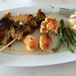 Perfect in every way! Broiled Seafood Platter.