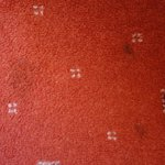 marked carpet