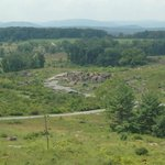 Looking down from Little Round Top on the Devil's Den
