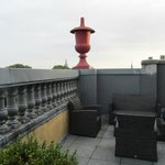 Balcony from Room 405 (Junior Suite) at Hotel Des Indes