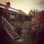 Bliss Cottage, took from the garden