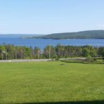 View from our room of Bras d'Or Lake