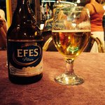 Relaxing with an Efes