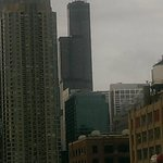Day view from the balcony, Willis Tower in distance