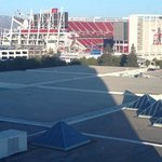 Inside of Levi's Stadium from Hyatt Room 1050