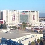 Front of Levi's Stadium from Hyatt Room 1050
