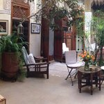 Pano view of the Riad