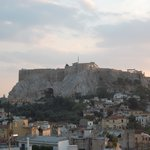 Acropolis view from bar