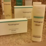 Neutrogena bath products complimentary