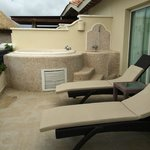 Our outside jacuzzi