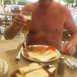 Full English breakfast at Murat Apart Otel x