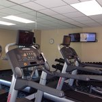 Fitness room. Fairfield Inn by Marriott.  The Dalles Oregon. Photo by Terry Hunefeld.