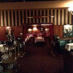 The dining room at The Golden Steer.