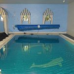 The indoor swimming pool