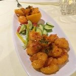 Silk Road Shrimp at Edge Steakhouse