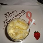 Rom Popei and Anniversary plate for me, not Breast Cancer ribbon