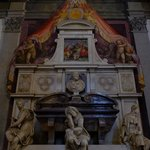 the tomb of Michelangelo