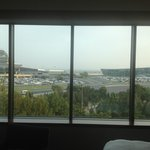 View From Window of Baku Airport