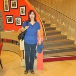 Taken at the bottom of the steps leading to the reception area.