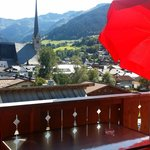 Balcony of Alpine Dreams Appt. at  Alpenparks Resort - Maria Alm