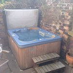 The secret garden spa hot tub