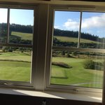 View from room 402 onto the golf course