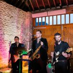 The Brightside Band playing in the Barn