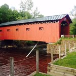 Covered bridges in the area