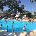 panorama of pool