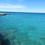 Cristal clear sea water