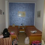 Other end of  single beds room