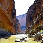 Santa Elena Canyon. Photo by K Mennem