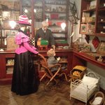 The adorable victorian toy shop