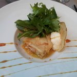 Millefeuille crabe-pomme granny