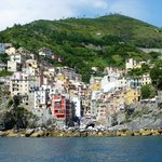 Arriving at Riomaggiore from Porto Venere