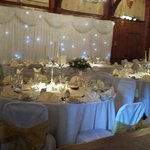 tudor suite set for the wedding breakfast