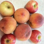 Peaches & Apples from Milburns 2014
