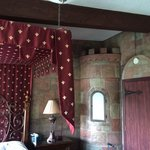 Our private castle room