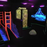 Blacklight Miniature Golf