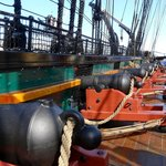 Cannons aboard the USS Constitution