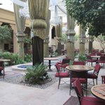 The Courtyard with Majlis style seating