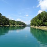 norris lake is so amazing. The water is so clear for a lake