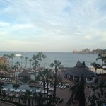View from ME Cabo Hotel to Medano Beach!!