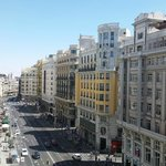 linda vista a Gran via