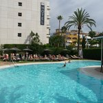 Pool and Hotel view